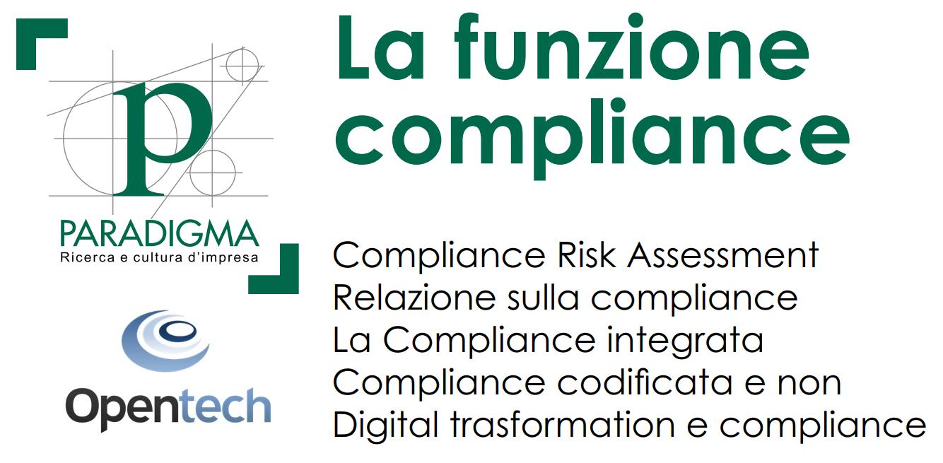 """Opentech ha partecipato all'evento """"La funzione compliance"""" organizzato da Paradigma"""