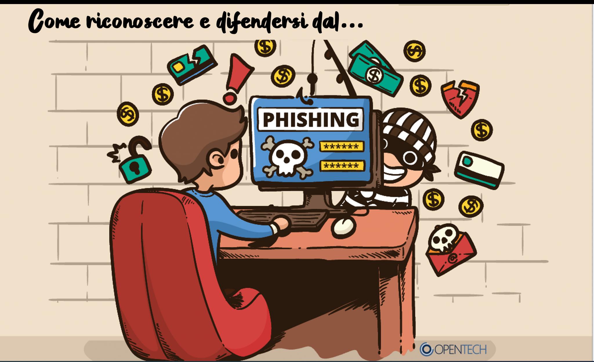 Phishing: un fenomeno in crescita che può colpire chiunque
